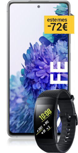Galaxy S20 FE + Band Fit 2 gratis