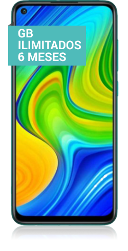 Redmi note 9 verde
